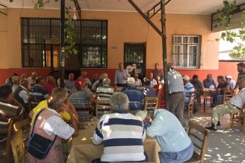 CHP Tarsus İlçe Başkanımız Ali İlk İle Birlikte Tarsus Barboros Mahallesi Çarşı Esnafı ve Kahvehanelerini Ziyaretimiz.-10