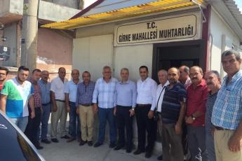 HP Tarsus İlçe Başkanımız Ali İlk İle Birlikte Tarsus Girne Mahallesi Muhtarımız Ramazan İnal'ı Ziyaret Ederek, Bir Yıllık Faaliyetlerimizi İçeren Kitabımızı Takdimimiz.-03