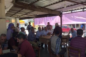 CHP Tarsus İlçe Başkanımız Ali İlk İle Birlikte Tarsus Girne Mahallesi Kahvehanelerini Ziyaretimiz.-02