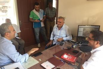 CHP Tarsus İlçe Başkanımız Ali İlk İle Birlikte Tarsus Yeşil Mahallesi Muhtarımız Emrah Kara'yı Ziyaret Ederek, Bir Yıllık Faaliyetlerimizi İçeren Kitabımızı Takdimimiz.-02