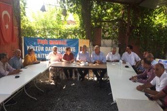 CHP Tarsus İlçe Başkanımız Ali İlk ile Birlikte Tarsus Yeşil Mahallesi Kültür ve Dayanışma Derneğini Ziyaretimiz.-01