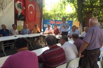 CHP Tarsus İlçe Başkanımız Ali İlk ile Birlikte Tarsus Yeşil Mahallesi Kültür ve Dayanışma Derneğini Ziyaretimiz.-02