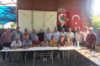 CHP Tarsus İlçe Başkanımız Ali İlk ile Birlikte Tarsus Yeşil Mahallesi Kültür ve Dayanışma Derneğini Ziyaretimiz.-03