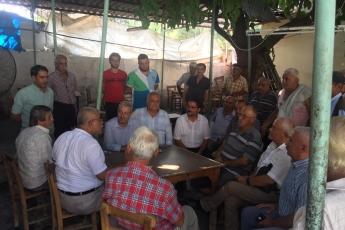 CHP Tarsus İlçe Başkanımız Ali İlk ile Birlikte Tarsus Yeşil Mahallesi Kahvehanelerini Ziyaretimiz.-01