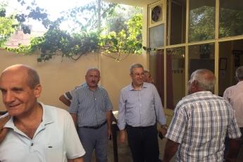 CHP Tarsus İlçe Başkanımız Ali İlk ile Birlikte Tarsus Yeşil Mahallesi Kahvehanelerini Ziyaretimiz.-03