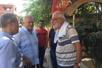 CHP Tarsus İlçe Başkanımız Ali İlk ile Birlikte Tarsus Yeşil Mahallesi Kahvehanelerini Ziyaretimiz.-04