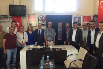 CHP Adıyaman Şambayat Belde Başkanlığını Ziyaretimiz.-01