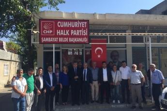 CHP Adıyaman Şambayat Belde Başkanlığını Ziyaretimiz.-03