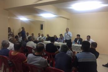 Adıyaman Yenimahalle'de CHP Parti yöneticilerimiz ile birlikte Apartman Görevlileri (Kapıcılar) ile toplantımız.-02