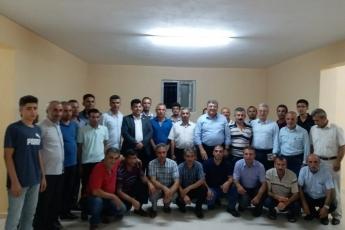 Adıyaman Yenimahalle'de CHP Parti yöneticilerimiz ile birlikte Apartman Görevlileri (Kapıcılar) ile toplantımız.-06