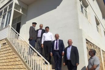 CHP Adıyaman Milletvekilimiz Abdurrahman Tutdere İle Birlikte Pınarbaşı Belediye Başkanımız Mahmut Alan'ı ziyaretimiz.-01