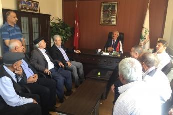 CHP Adıyaman Milletvekilimiz Abdurrahman Tutdere İle Birlikte Pınarbaşı Belediye Başkanımız Mahmut Alan'ı ziyaretimiz.-02