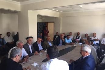 CHP Adıyaman Milletvekilimiz Abdurrahman Tutdere İle Birlikte Pınarbaşı Belediyesinde Vatandaşlarımız İle Toplantımız.-02
