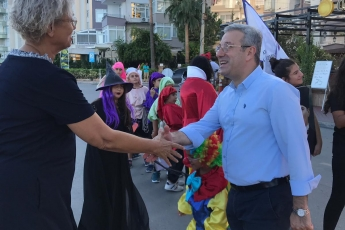 Mezitli'de Avrupa Hareketlilik Haftası Kapsamında Düzenlenen 'Otomobilsiz Kent Günü' Etkinliklerine Katılımımız.-01