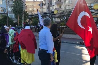 Mezitli'de Avrupa Hareketlilik Haftası Kapsamında Düzenlenen 'Otomobilsiz Kent Günü' Etkinliklerine Katılımımız.-02