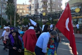 Mezitli'de Avrupa Hareketlilik Haftası Kapsamında Düzenlenen 'Otomobilsiz Kent Günü' Etkinliklerine Katılımımız.-03