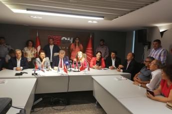Doğa Haklarından Sorumlu Genel Başkan Yardımcımız Gülizar Biçer Karaca'nın ve Adıyaman Milletvekilimiz Abdurrahman Tutdere'nin CHP Mersin İl Başkanlığını Ziyaretine Katılımımız.-04