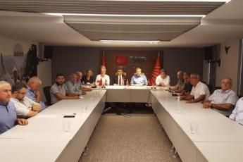 Elazığ Milletvekilimiz Gürsel Erol'un CHP Mersin il Başkanlığı Ziyaretine Katılımımız.