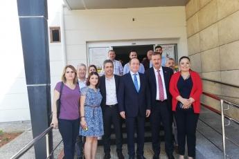 CHP PM Üyemiz ve İstanbul Milletvekilimiz Sayın M.Akif Hamzaçebi İle Birlikte Mersin Yenişehir Belediyesini Ziyaretimiz.-01