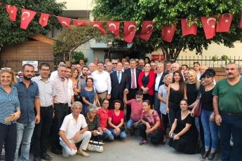 CHP PM Üyemiz ve İstanbul Milletvekilimiz Sayın M.Akif Hamzaçebi İle Birlikte CHP Mersin İlçe Başkanlığını Ziyaretimiz.-02