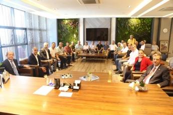 CHP PM Üyemiz ve İstanbul Milletvekilimiz Sayın M.Akif Hamzaçebi İle Birlikte Mersin Mezitli Belediyesini Ziyaretimiz.-01