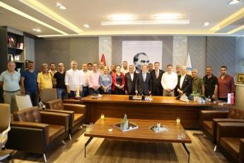CHP PM Üyemiz ve İstanbul Milletvekilimiz Sayın M.Akif Hamzaçebi İle Birlikte Mersin Mezitli Belediyesini Ziyaretimiz.-02