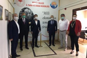 08.06.2020 Mersin İl Tarım ve Orman Bakanlığı Müdürlüğünü Ziyaret-2