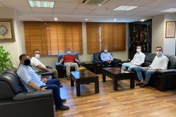 SMMMO Başkanımızı ve Yönetim Kurulu Üyelerini ziyaret ettik, pandemi süreci etkilerini ve neler yapılması gerektiğini değerlendirdik- 1