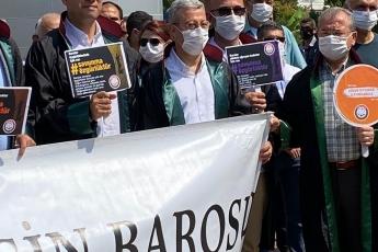 Çoklu Baro, Baroların Seçim Sisteminin değiştirilmesine hayır demek için baro başkanlarımızla beraber yürüdük-2