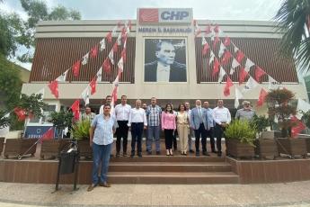 Bartın Milletvekilimiz Aysu Bankoğlu, Amasra Belediye Başkanı Recai Çakır ile Birlikte Mersin CHP İl Başkanlığımızı Ziyaret Ettik-1
