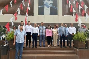 Bartın Milletvekilimiz Aysu Bankoğlu, Amasra Belediye Başkanı Recai Çakır ile Birlikte Mersin CHP İl Başkanlığımızı Ziyaret Ettik-2