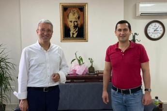 Mersin Makina Mühendisleri Odası Başkanımız İbrahim Yücesoy'u Ziyaret Ettik-2