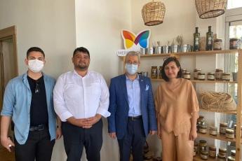 Mersin Büyükşehir  Belediyemizin Halkımızın Hizmetine Sunduğu Yöreden Cafe
