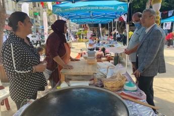 Mersin Büyükşehir Belediyesinin katkılarıyla üreterek ekonomiye katkı sunan üretici kadın kooperatiflerin buluşma organizasyonuna katıldık