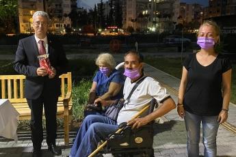Mezitli Kent Konseyi Engelli Meclisini Ziyaret Ederek Kadına Karşı Şiddet ve İstanbul Sözleşmesini Konuştuk