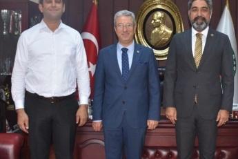 Adana Barosu ziyaretimiz halef selef başkanlarla birlikte...