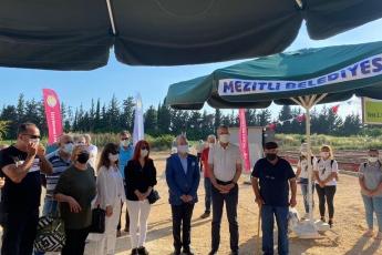 Mersin Mezitli Belediyemizin, Dünya Çevre Gününde Tece Mahallemizde 8.sini hayata geçirdiği hobi bahçelerinin açılış törenine katıldık.
