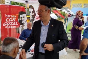 İstanbul Sancaktepe İlçesi Fatih Mahallesi Parti Seçim Çadırlarını Ziyaretimiz.-01