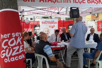 İstanbul Sancaktepe İlçesi Fatih Mahallesi Parti Seçim Çadırlarını Ziyaretimiz.-02