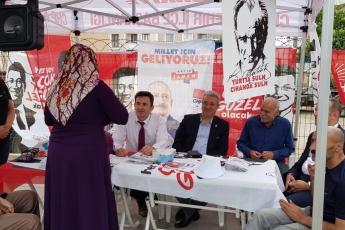 İstanbul Sancaktepe İlçesi Fatih Mahallesi Parti Seçim Çadırlarını Ziyaretimiz.-03