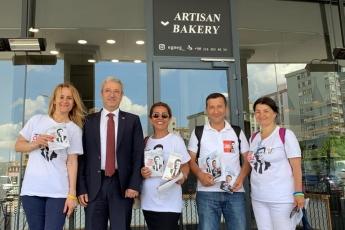İstanbul Ataşehir'de CHP Gönüllüleri İle Birlikteyiz.