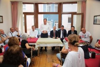 İstanbul'da yaşayan Mersinin İlçelerinden Hemşehri Dernekleri ve Taşeli Platformu İle Toplantıya Katılımımız.-03
