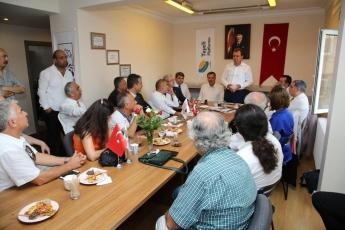 İstanbul'da yaşayan Mersinin İlçelerinden Hemşehri Dernekleri ve Taşeli Platformu İle Toplantıya Katılımımız.-04