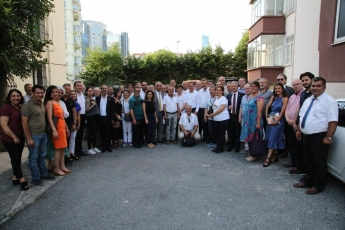 İstanbul'da yaşayan Mersinin İlçelerinden Hemşehri Dernekleri ve Taşeli Platformu İle Toplantıya Katılımımız.-05