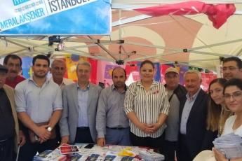İstanbul Sarıgazi Demokrasi Caddesinde Seçim Çadırını Ziyaretimiz.-01