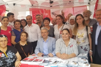 İstanbul Sarıgazi Demokrasi Caddesinde Seçim Çadırını Ziyaretimiz.-02