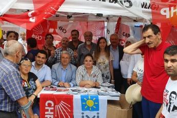 İstanbul Sarıgazi Demokrasi Caddesinde Seçim Çadırını Ziyaretimiz.-03