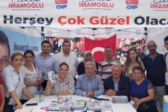 İstanbul Samandıra Saat Kulesinde Seçim Çadırını Ziyaretimiz.-01