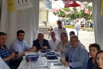 İstanbul Samandıra Saat Kulesinde Seçim Çadırını Ziyaretimiz.-02