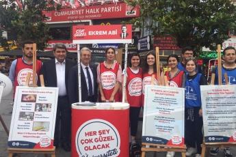 CHP Beşiktaş İlçe Teşkilatı Ve Seçim Çadırlarını Ziyaretimiz.-01